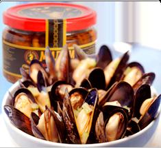 Морские продукты деликатесы